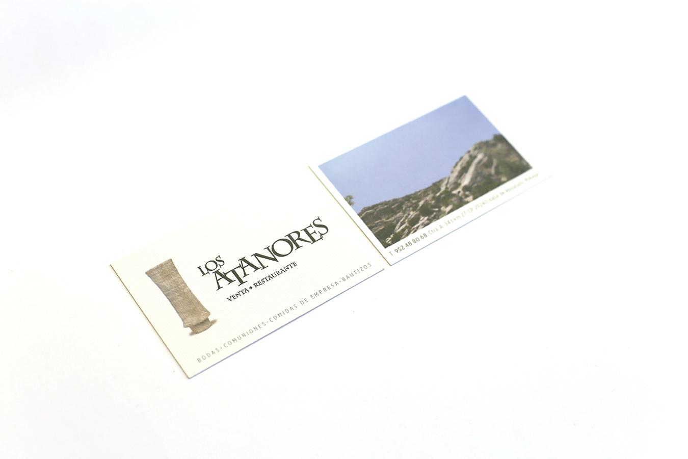 ATANORES-TARJETA VISITA